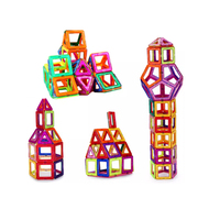 103pcs Building Blocks Construction Toys 3D Magnetic House Magnet Model DIY Bricks Fun Playing Holiday Xmas Gifts for Children
