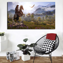 Assassins Creed Odyssey In Game Canvas Painting Poster Prints Marble Wall Art Painting Decorative Picture Modern Home Decoration assassins creed leap of faith canvas painting posters prints marble wall art painting decorative picture modern home decoration