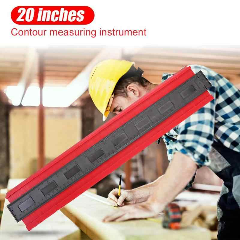 baldosas laminadas y trabajo de madera contorno duplicador para medidor de perfil irregular herramienta de medici/ón de 25 cm y 12 cm Medidor de contorno profesional DUTISON