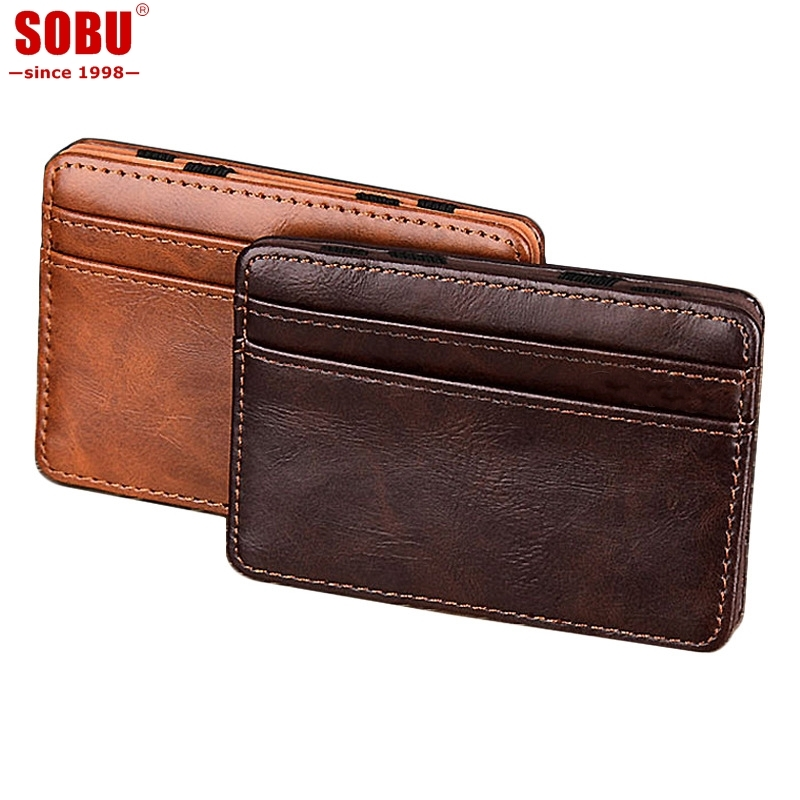 brand-fashion-mini-credit-card-wallet-purse-card-holders-men-wallet-thin-small-high-quality-pu-leather-magic-wallets-t015