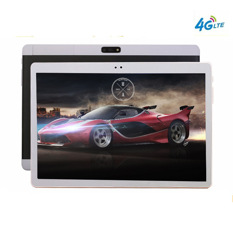 2018 NEW 10 1 Tablets Android 10 Core 128GB ROM Dual Camera 8MP Dual SIM Tablet