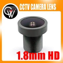New Lens 1.8mm lens 1.8mm FISH EYE Wide Angle Fix Board CCTV Security Camera Lens For CCTV IP CAMERA