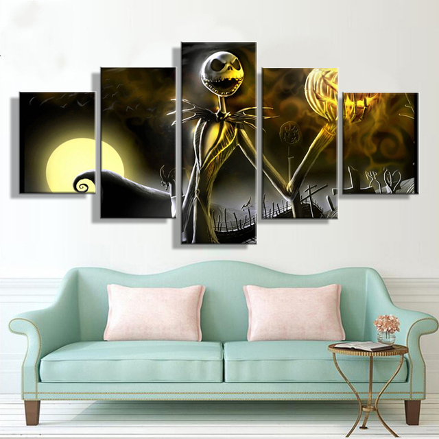 Modern Frames For Painting Modular Cheap Pictures Wall Art 5 Panel ...