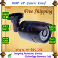 Hot 1.3Mp Indoor/Outdoor HD 960P IP Camera 1/3'' cmos 1.3MP 24pcs ABS Security ONVIF IR Cut Night Vision IP Camera free shipping