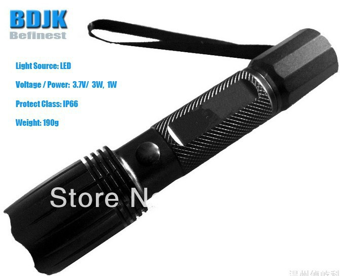 led explosion proof flashlight strong led flashlight with 1000 meters effective distance Portable LED Flashlight / LED Torches / Lights& Lighting with 120 Meters Effective Irradiation Distance