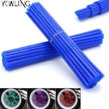 36Pcs wheel spoke skins Cover Wheel Rim Spoke Wraps For YAMAHA YZ125 YZ250 YZ426F YZ450F YZ250F YZ 125 250 426F 450F MT-09