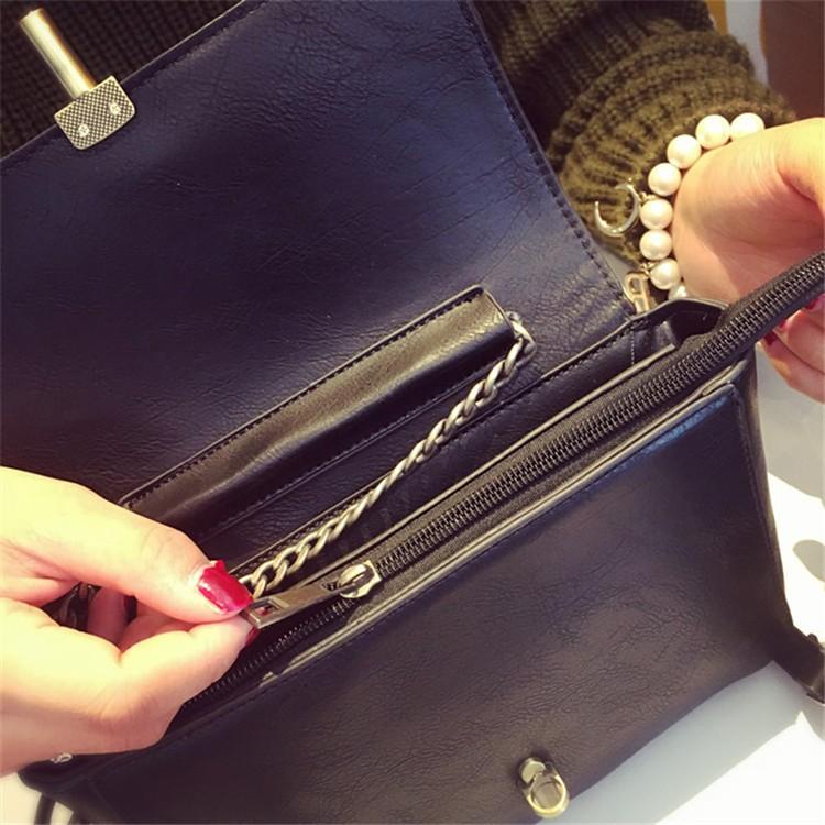 2015 New Fashion Women Bag Leahter Handbags Small Messenger Bolsa Feminina Crossbody Shoulder Bags  Bolsos Famous Brands Lady 006