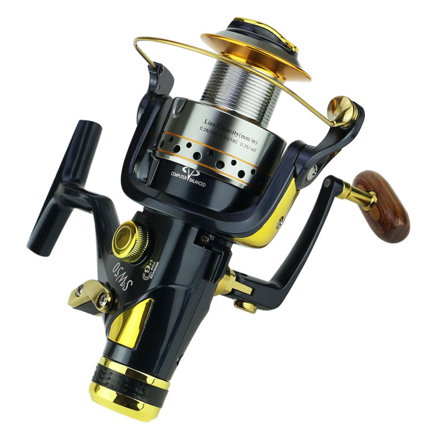 SW Fishing Reel Spinning Reel Long Casting 9+1BB 5.2:1 Max Drag 8KG Carp Spinning Fishing Wheel 5000 6000 tsurinoya tsp3000 spinning fishing reel 11 1bb 5 2 1 full metal max drag 8kg jig ocean boat lure reels carretes pesca molinete