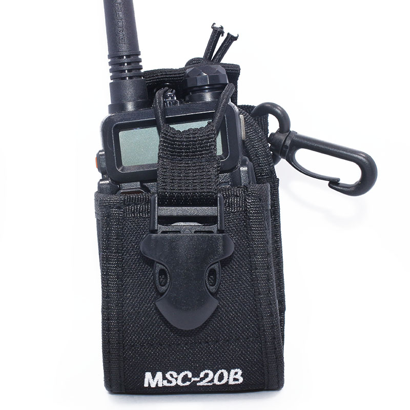 Baofeng Two-way radio case holder MSC-20B for Icom Baofeng UV-5R/5RE/5RA PLUS TYT TH-F8+ Yaesu Vextex walkie talkie