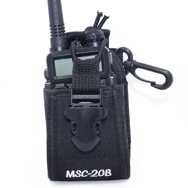 Baofeng Two-way radio case holder MSC-20B for Icom Baofeng UV-5R/5RE/5RA PLUS TYT TH-F8+ Yaesu Vextex walkie talkie