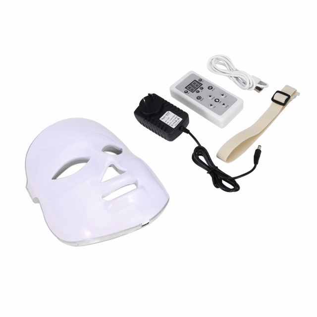 Korean Photodynamic LED Facial Mask Home Use Beauty Instrument Anti Acne Skin Rejuvenation LED Photodynamic Beauty Face Mask 5