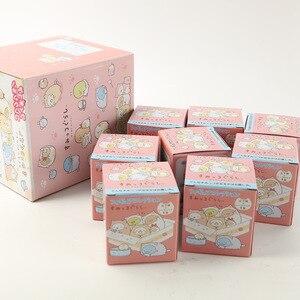 Image 3 - JY 8 шт./лот, японская одежда, милая серия кошек, декоративные фигурки существ, виниловые куклы WJ01