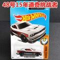 Novedades 2017 hot wheels 15 dodge challenger metal diecast cars colección kids toys vehículo para niños juguetes