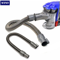 NTNT New Arrival Grey Plastic 78cm Replacement Extension Pipe Hose Soft Tube For Dyson Vacuum DC35