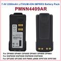 PMNN4409AR MOTOTRBO IMPRES GP328D de IÕES de LÍTIO de 2200 mah Bateria Para Motorola MOTOTRBO XPR 7550 DP4800 DGP8550 XiR P8668 Rádio DMR