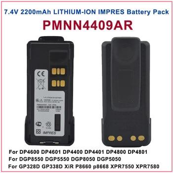 PMNN4409AR MOTOTRBO IMPRES LITHIUM ION 2200mah Battery For Motorola MOTOTRBO GP328D XiR P8668 XPR 7550 DP4800 DGP8550 DMR Radio