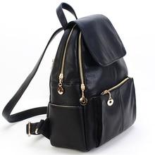 Keytrend женские рюкзаки Англия элегантный дизайн женские черные школьные сумки женские из искусственной кожи дорожный рюкзак для девочек KSB164