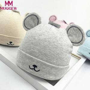8ce73cbbd23 MUQGEW Toddler Warm Winter Ear Caps Newborn Baby Beanie hat