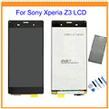100% New For Sony Xperia Z3 D6603 D6653 L55t LCD Display with Touch Screen Digitizer Assembly + Sticker + Tools Free Shipping