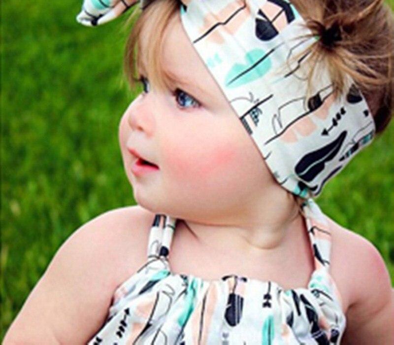 ④Calidad bandas para la cabeza del bebé Niñas bebé Orejas de conejo ...