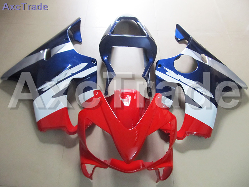 High Quality ABS Plastic For Honda CBR600RR CBR600 CBR 600 F4i 2001-2003 01 02 03 Moto Custom Made Motorcycle Fairing Kit Red gray moto fairing kit for honda cbr600rr cbr600 cbr 600 f4i 2001 2003 01 02 03 fairings custom made motorcycle injection molding