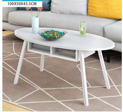 Simple tea table. Tea table balcony leisure small table.. creative tea table toughened glass tea table the oval table of the lacquer that bake small tea table