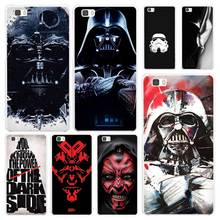 Darth Vader Star Wars White Hard Plastic Cover Phone Case for Huawei P7 P8 P9 P10 Lite Mate s 7 8 9