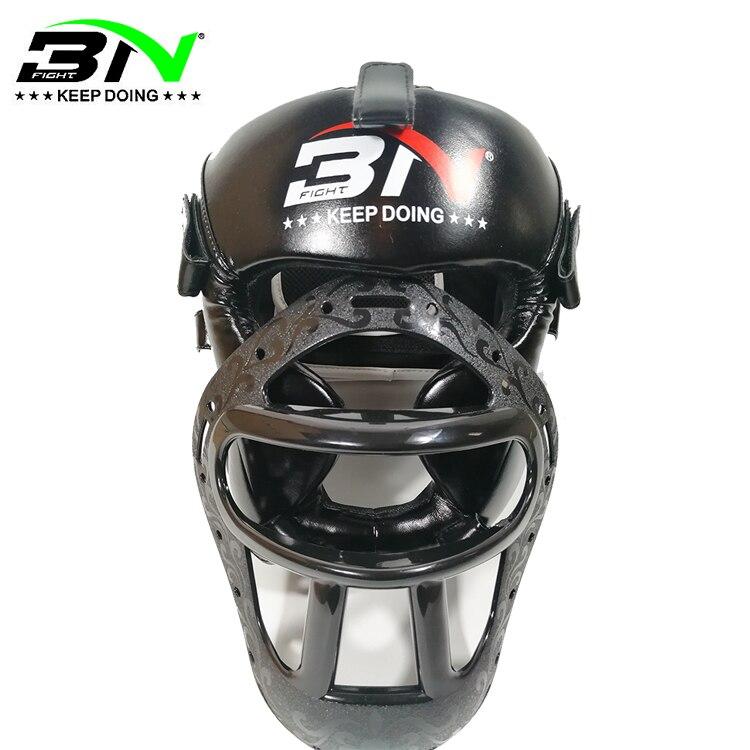 BN Kids Adults New MMA Muay Thai Boxing Helmet W Mask Taekwondo Martial Arts Sparring Sanda