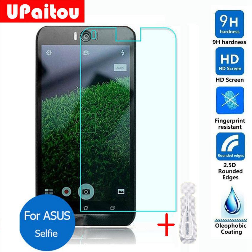 UPaitou Safety Protective Film For Asus ZenFone Selfie ZD551KL Tempered Glass Screen Protector 2.5D 9H for ZD551KL Dual SIM LTE