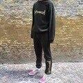Mais recente Gosha Rubchinskiy Capuz Rochoso Rússia 1:1 de Alta Qualidade do Algodão Das Mulheres Dos Homens de Costura Bordado Gosha Rubchinskiy Hoodies