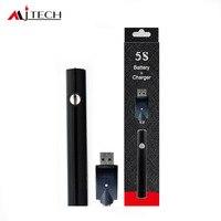 50pcs/lot eSmart Preheat Battery 380mah Vape pen e Smart battery oil pen for 510 oil cartridge Vaporizer E Cigarettes