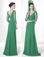 Spring 2017 Mother Of The groom Dresses Plus Size mint green Bride Mother Dresses Weddings Women Formal Gown godmother dress
