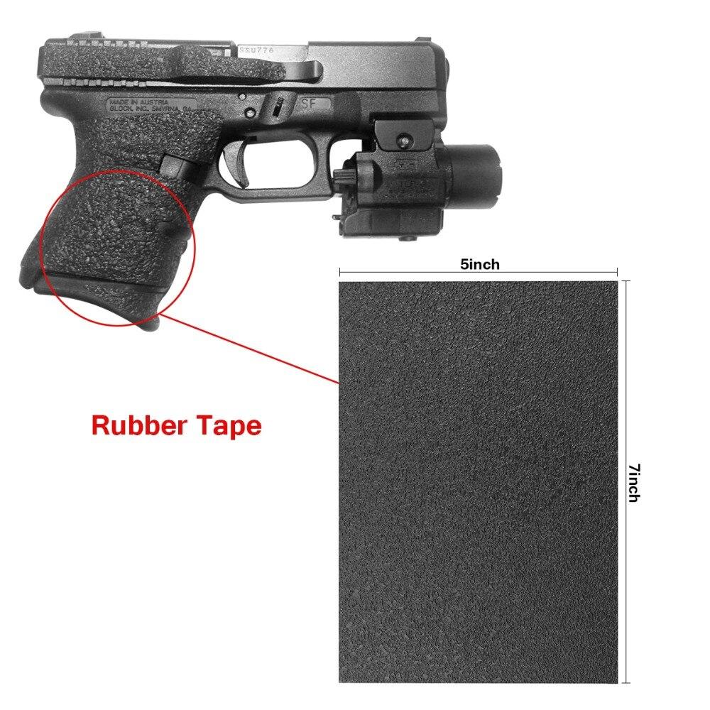 Nicht-slip Gummi Textur Grip Wrap Band Grips Band Material Blatt Für (gun) Pistole Skateboard Telefon Computer Kameras Schneider Werkzeug ZuverläSsige Leistung