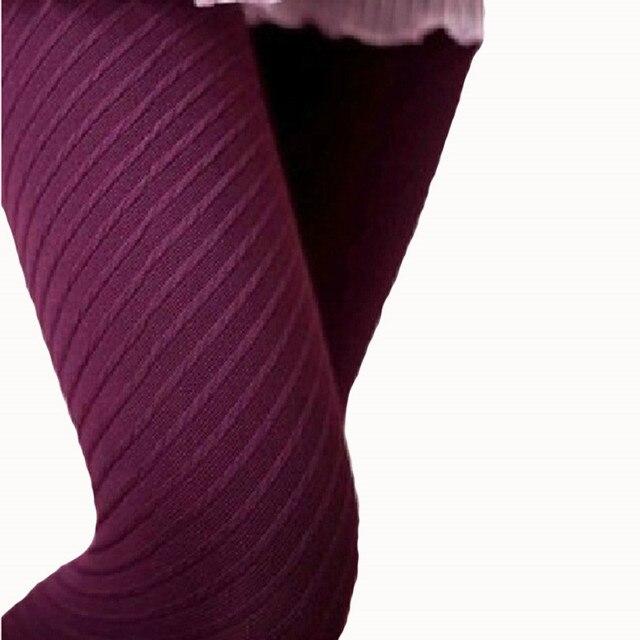 neue angekommene strumpfhose frauen streifen strumpfhosen stricken super d nne hanf str mpfe typ. Black Bedroom Furniture Sets. Home Design Ideas