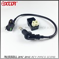Ignition coil & 6PIN CDI Box & Spark plug Fit Chinese Scooters GY6 ATV Go-Karts Mopeds 125CC 150CC 4-stroke