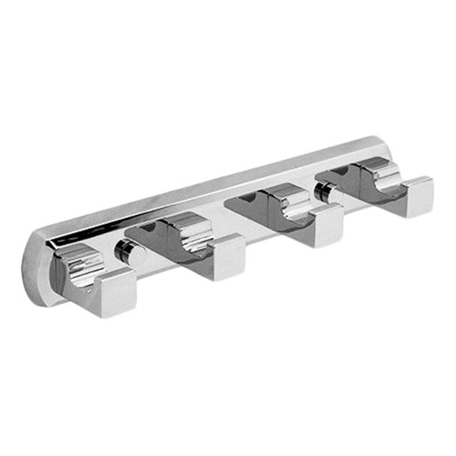 Крючки на планке WasserKRAFT Lippe K-6574 (Металл, хромоникелевое покрытие)