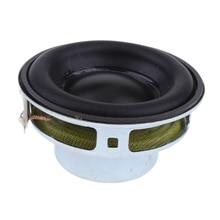 40mm 4Ohm 5W Full Range Audio Speaker Round Loudspeaker 16 Coil Rubber Edge speaker Replacement accessories rubber edge design