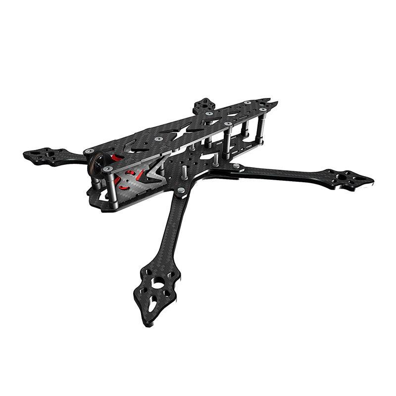 BCROW FS235 235mm True X FPV Racing Frame Freestyle 5mm Frame Arm Carbon Fiber For RC Drone tator rc 3k carbon fiber plate 3 5mm tl2900