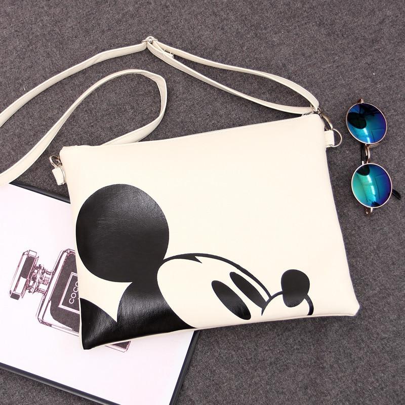 2018 femmes Messenger sacs Minnie Mickey sac en cuir sacs à main pochette Bolsa Feminina mochila Bolsas femme sac a main