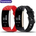 S2 Banda Monitor de Freqüência Cardíaca Pulseira Smartband OLED Bluetooth 4.0 Inteligente pulseira para android ios telefone pk mi banda de fitness passo 2