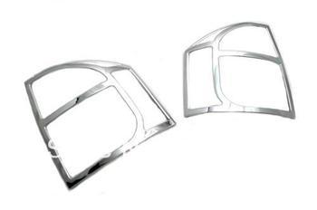 כיסוי זנב אור לקצץ כרום סטיילינג רכב לג 'יפ מצפן 2007-2012