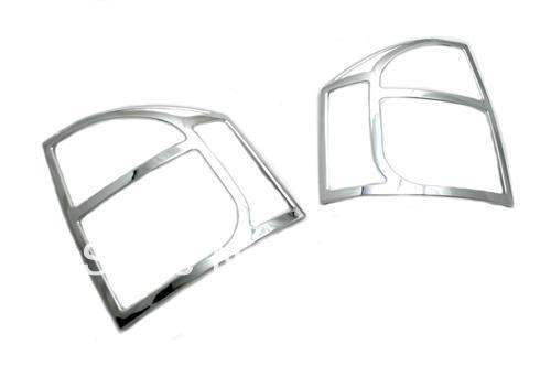 Car Styling Chrome Tail Light Cover Trim For Jeep Compass