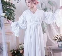Nnightgowns Sleepwear Women Vintage Style Home dress