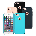 Caso resistente a riscos à prova de choque fino para apple iphone 7/7 premium plus caso suave silicone capa protetora capa para iphone 7