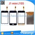 "4 ""polegadas touch screen painel de digitador para samsung j1 mini j105 j105h j105f j105m screen display lcd"