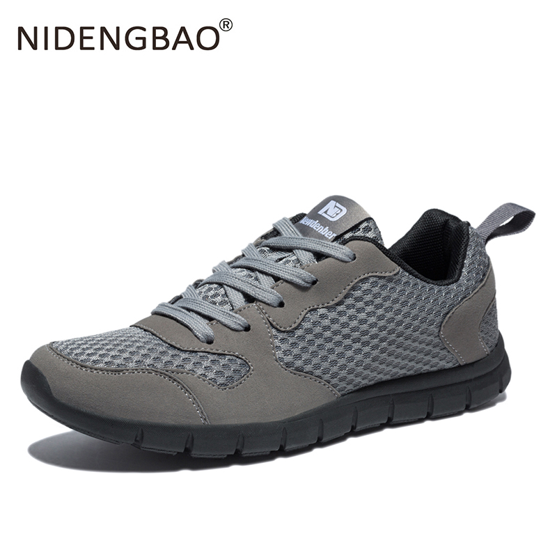 Running Shoes Men Winter Mesh Breathable Sport Shoes For Male Light-weight Sneakers Size 39-50