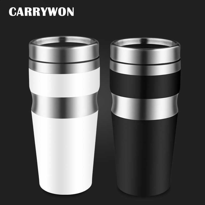 CARRYWON New Fashion Thermos Cup Not Leak proof Stainless ...