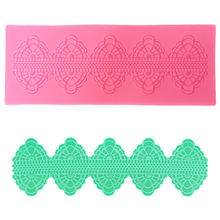 LYCFEP Lace Fondant Mold Silicone Cake Decorating Molds Form for Soap Baking Tools EP024940