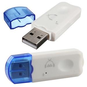 Image 5 - Mini Portable USB sans fil Bluetooth v2.1stéréo musique Audio récepteur adaptateur mains libres pour TV voiture haut parleur à la maison