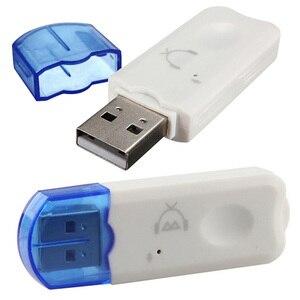 Image 5 - Мини портативный USB беспроводной Bluetooth v2.1 стерео музыкальный аудио приемник адаптер гарнитура для тв автомобиля дома динамика